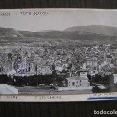 Postales: ALCOY - POSTAL PROTOTIPO ARCHIVO FOTOGRAFICO ROISIN - FOTO PEGADA-VER FOTOS-(52.048). Lote 112919307