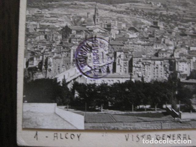 Postales: ALCOY - POSTAL PROTOTIPO ARCHIVO FOTOGRAFICO ROISIN - FOTO PEGADA-VER FOTOS-(52.048) - Foto 2 - 112919307