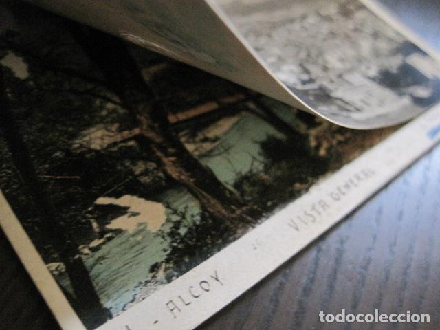 Postales: ALCOY - POSTAL PROTOTIPO ARCHIVO FOTOGRAFICO ROISIN - FOTO PEGADA-VER FOTOS-(52.048) - Foto 3 - 112919307