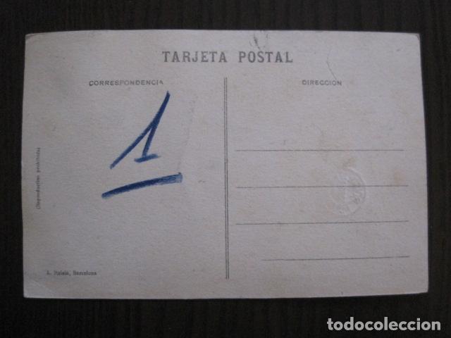 Postales: ALCOY - POSTAL PROTOTIPO ARCHIVO FOTOGRAFICO ROISIN - FOTO PEGADA-VER FOTOS-(52.048) - Foto 4 - 112919307