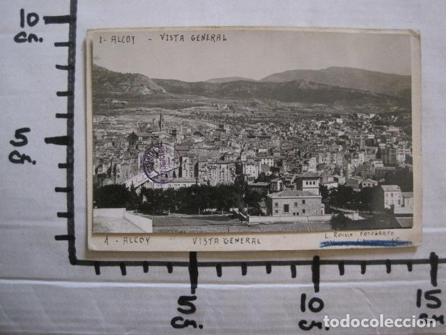 Postales: ALCOY - POSTAL PROTOTIPO ARCHIVO FOTOGRAFICO ROISIN - FOTO PEGADA-VER FOTOS-(52.048) - Foto 6 - 112919307