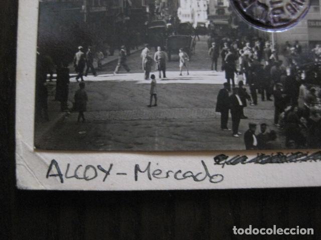 Postales: ALCOY - POSTAL PROTOTIPO ARCHIVO FOTOGRAFICO ROISIN - FOTO PEGADA-VER FOTOS-(52.049) - Foto 2 - 112919463