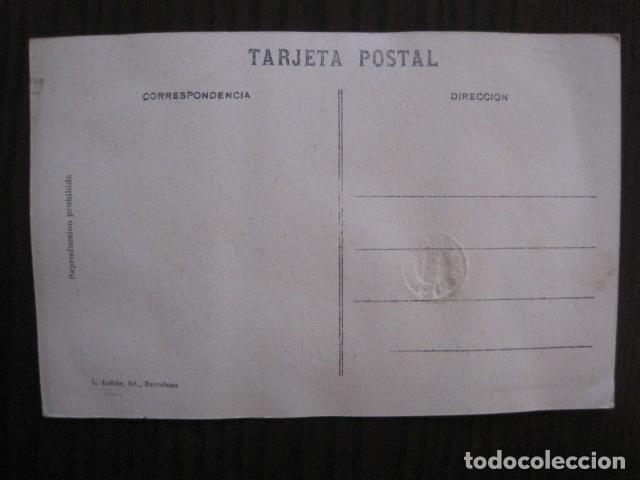 Postales: ALCOY - POSTAL PROTOTIPO ARCHIVO FOTOGRAFICO ROISIN - FOTO PEGADA-VER FOTOS-(52.049) - Foto 5 - 112919463