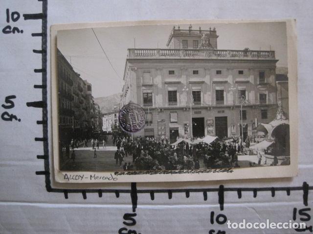Postales: ALCOY - POSTAL PROTOTIPO ARCHIVO FOTOGRAFICO ROISIN - FOTO PEGADA-VER FOTOS-(52.049) - Foto 6 - 112919463
