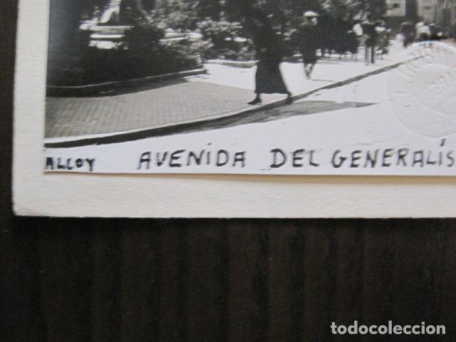 Postales: ALCOY - POSTAL PROTOTIPO ARCHIVO FOTOGRAFICO ROISIN - FOTO PEGADA-VER FOTOS-(52.050) - Foto 2 - 112920411