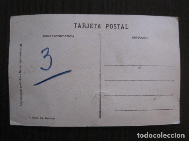 Postales: ALCOY - POSTAL PROTOTIPO ARCHIVO FOTOGRAFICO ROISIN - FOTO PEGADA-VER FOTOS-(52.050) - Foto 5 - 112920411