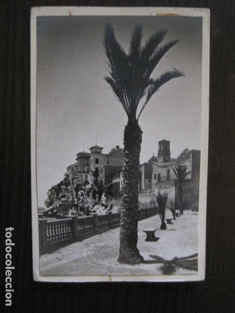 BENIDORM - POSTAL PROTOTIPO ARCHIVO FOTOGRAFICO ROISIN - FOTO PEGADA-VER FOTOS-(52.051) (Postales - España - Comunidad Valenciana Antigua (hasta 1939))