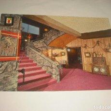 Postales: HOSTAL MONTE PICAYO , HALL PARRILLA , COSTA VALENCIANA. Lote 112998987