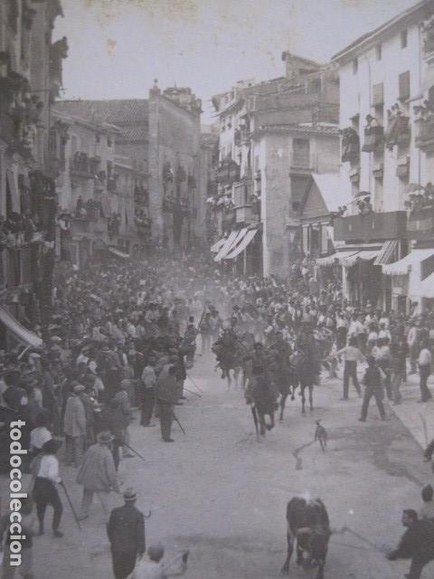 Postales: SEGORBE - FOTOGRAFICA - ENTRADA DE TOROS - VER FOTOS - (52.110) - Foto 2 - 113510371