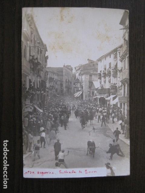 Postales: SEGORBE - FOTOGRAFICA - ENTRADA DE TOROS - VER FOTOS - (52.110) - Foto 3 - 113510371