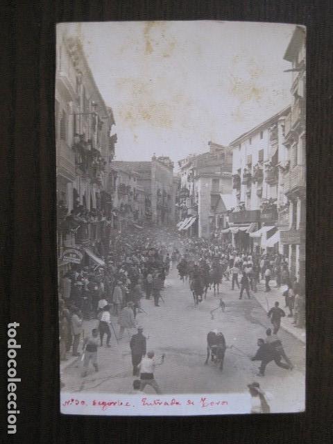 SEGORBE - FOTOGRAFICA - ENTRADA DE TOROS - VER FOTOS - (52.110) (Postales - España - Comunidad Valenciana Antigua (hasta 1939))