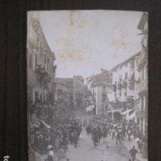 Postales: SEGORBE - FOTOGRAFICA - ENTRADA DE TOROS - VER FOTOS - (52.110). Lote 113510371