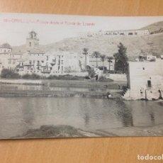 Postales: ANTIGUA POSTAL ORIHUELA ALICANTE PAISAJE DESDE EL PUENTE DE LEVANTE ANDRES FABERT. Lote 114207627