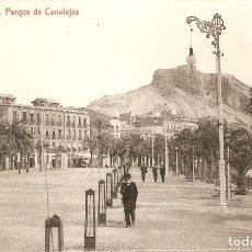 Postales: ALICANTE 685 PARQUE DE CANALEJAS THOMAS C. EN 1912. Lote 114430695