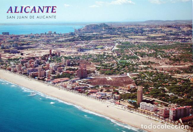 POSTAL PLAYA DE SAN JUAN ALICANTE (Postales - España - Comunidad Valenciana Moderna (desde 1940))