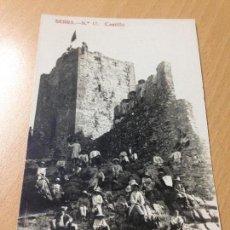 Postales: ANTIGUA POSTAL CASTILLO DE SERRA VALENCIA 1920. Lote 114919171