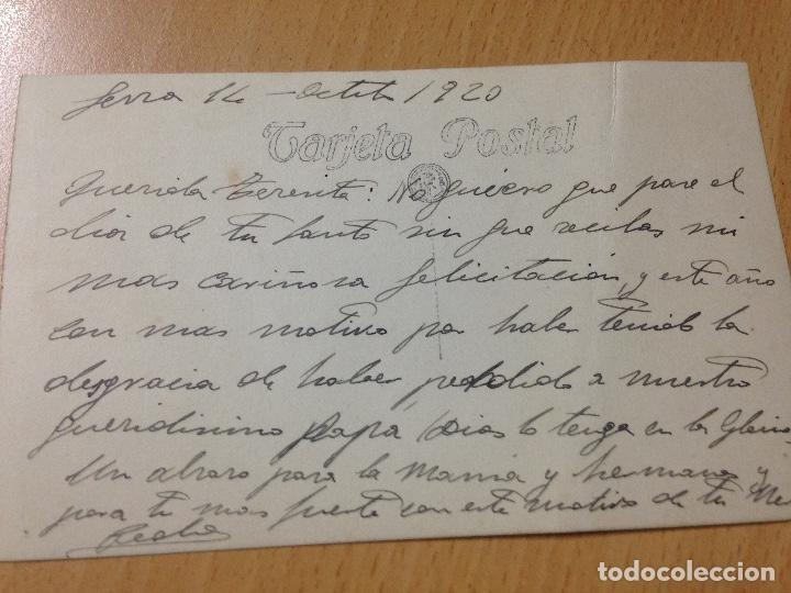 Postales: ANTIGUA POSTAL CASTILLO DE SERRA VALENCIA 1920 - Foto 3 - 114919171
