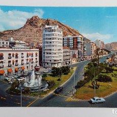 Postales: POSTAL GRAN FORMATO. PLAZA DEL MAR ALICANTE. SIN ESCRIBIR. Lote 115059831
