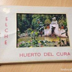 Postales: ANTIGUAS POSTALES ELCHE HUERTO DEL CURA BLOC GARCÍA GARRABELLA. Lote 115074635