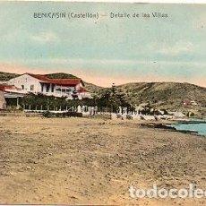 Postales: BENICASIM - DETALLE DE LAS VILLAS. Lote 115090551