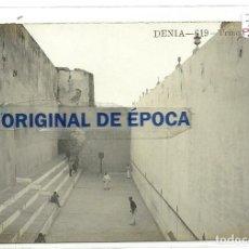 Postales: (PS-55482)POSTAL FOTOGRAFICA DE DENIA-TRINQUETE. Lote 115095139