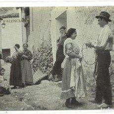 Postales: (PS-55480)POSTAL FOTOGRAFICA COLECCION VALENCIANA-NOVIOS.SIETE AGUAS. Lote 115095343