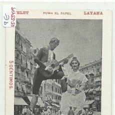 Postales: (PS-55479)POSTAL DE VALENCIA-FERIA 1904.NELET Y QUIQUETA. Lote 115095431