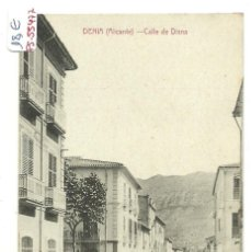 Postales: (PS-55477)POSTAL DE DENIA-CALLE DE DIANA. Lote 115095611