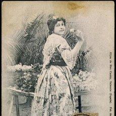 Postales: POSTAL VALENCIA LABRADORAS TIPOS DE LA HUERTA . HIJOS DE BLAS CUESTA CA AÑO 1910. Lote 115123971