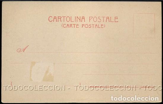 Postales: POSTAL ALICANTE PASEO DE LOS MARTIRES . JUAN MOSCA . CA AÑO 1900 - Foto 3 - 115124631