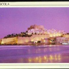 Postales: PEÑISCOLA (COSTA DEL AZAHAR).- VISTA NOCTURNA - 86. Lote 115193987