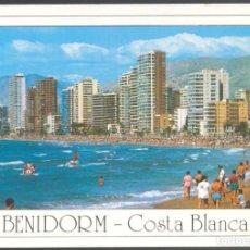 Postales: 21 - BENIDORM - COSTA BLANCA.- PLAYA DE LEVANTE. Lote 115198735