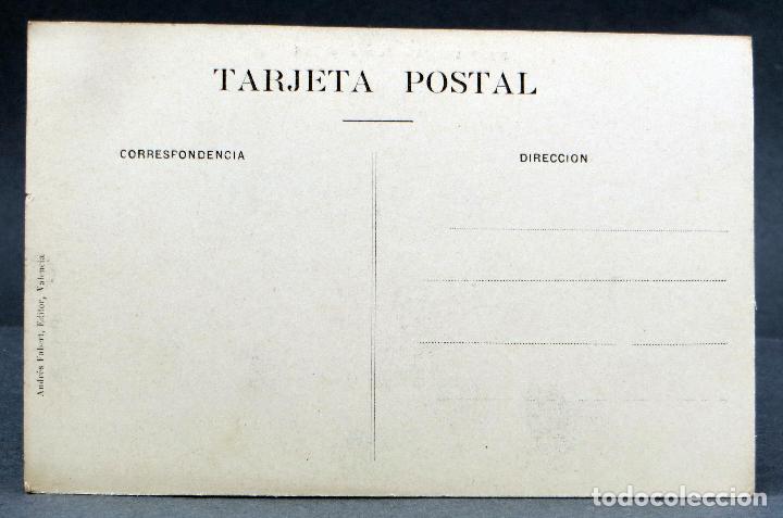 Postales: Postal Valencia Puente del Real tranvía Andrés Fabert Editor sin circular - Foto 2 - 115478875