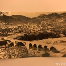 Postales: CIRAT (CASTELLON) PUENTE Y RIO MIJARES (H.1960?). Lote 115621295