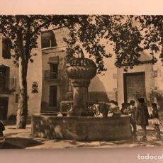 Postales: CIRAT (CASTELLON) POSTAL NO.9 PLAZA DE LA IGLESIA (H.1960?). Lote 115621672