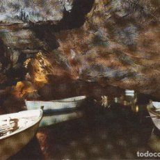 Postales: VALL DE UXO CASTELLON . GRUTA DE SAN JOSÉ RIO NAVEGABLE . Lote 115879623