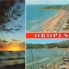 Postales: OROPESA DE MAR CASTELLON DIVERSOS ASPECTOS . SIN CIRCULAR. Lote 116098083