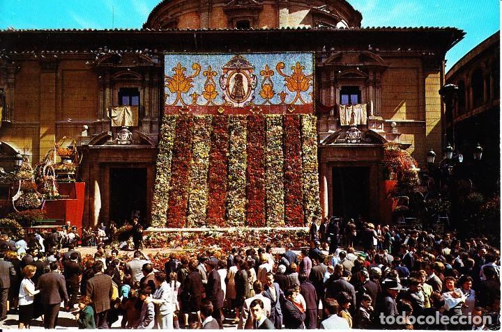 VALENCIA -PL. DE LA VIRGEN - OFRENDA- (FARDI MOD. 160) SIN CIRCULAR / P-2844 (Postales - España - Comunidad Valenciana Moderna (desde 1940))