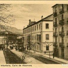 Postales: ALCOY. CUARTEL DE INFANTERIA. CALLE DE ALZAMORA. EDICIÓN: NAKE. CASA SEGURA- ALCOY. Lote 116798883