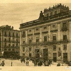 Postales: ALCOY. AYUNTAMIENTO. EDICIÓN CASA SEGURA. DORSO CON PARTICIPACIÓN DE LOTERÍA NAVIDAD DE 1925. (VER).. Lote 116799819