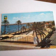 Postales: ALICANTE, PASEO DE JOSÉ ANTONIO. ESCUDO DE ORO. 1966.. Lote 117351051