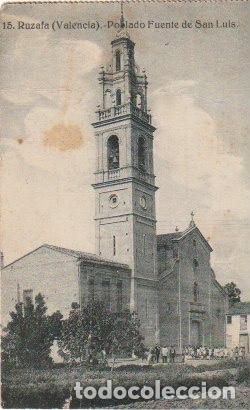RUZAFA VALENCIA POBLADO DE SAN LUIS SORTEO FIESTAS SAN MIGUEL ARCANGEL GRAFOS MADRID - -C-50 (Postales - España - Comunidad Valenciana Antigua (hasta 1939))