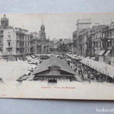 Postales: VALENCIA. PLAZA DEL MERCADO.. Lote 119031087