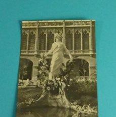 Postales: POSTAL FOTOGRÁFICA FUENTE EXPOSICIÓN REGIONAL DE VALENCIA. TARJETA POSTAL. REVERSO PARTIDO. Lote 119213487
