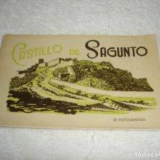 Postales: LIBRO 20 POSTALES FOTOGRAFICAS, CASTILLO DE SAGUNTO - FOTOGRAFIAS ROISIN.. Lote 119364543