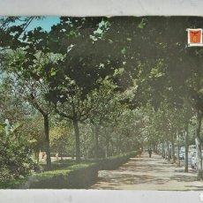Postales: ANTIGUA POSTAL PASEO VALENCIA AL MAR USADA. Lote 119444684