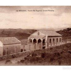 Postales: BENASAL (CASTELLON) - FUENTE EN SEGURES - CHALET NOVELLA . Lote 119556243