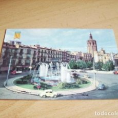 Postales: VALENCIA -- FUENTE DE LA PLAZA DE LA REINA. Lote 120293003