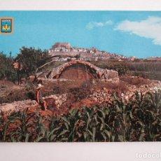 Cartes Postales: POSTAL CASTELLON - PEÑISCOLA - VISTA GENERAL - 1963 - COMAS ALDEA 8 - SIN CIRCULAR. Lote 120755143