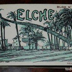 Postales: BLOK Nº 2. BLOCK POSTAL ELCHE. L. ROISIN. DOBLE TONO BISTRE. NOTA. PEDIDO MÍNIMO POR CUALQUIER CONC. Lote 120883819